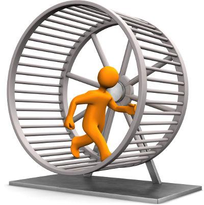 CX pro on hamster wheel